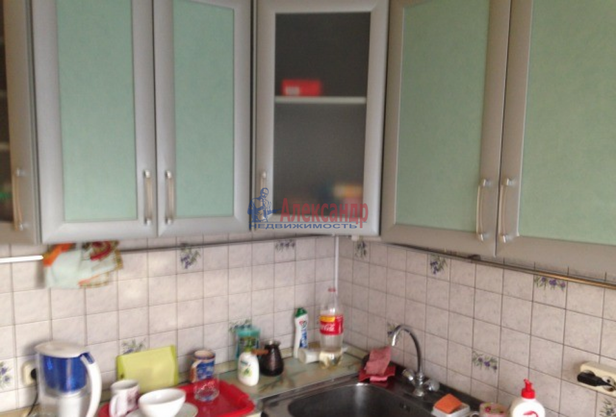 1-комнатная квартира (42м2) в аренду по адресу Наставников пр., 34— фото 1 из 5
