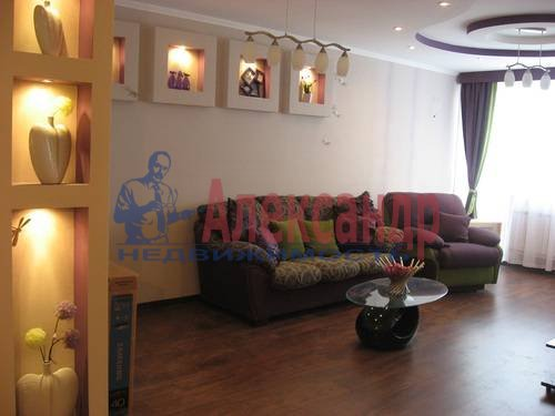 2-комнатная квартира (80м2) в аренду по адресу Дачный пр., 24— фото 3 из 17