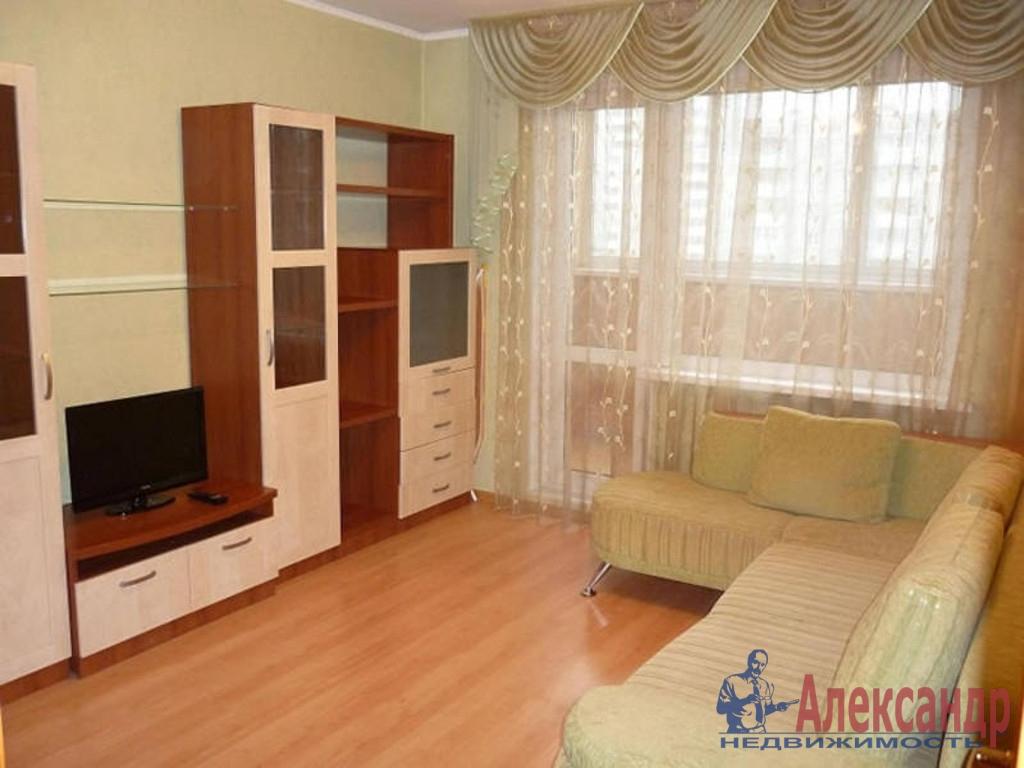 2-комнатная квартира (52м2) в аренду по адресу Художников пр., 15— фото 1 из 3