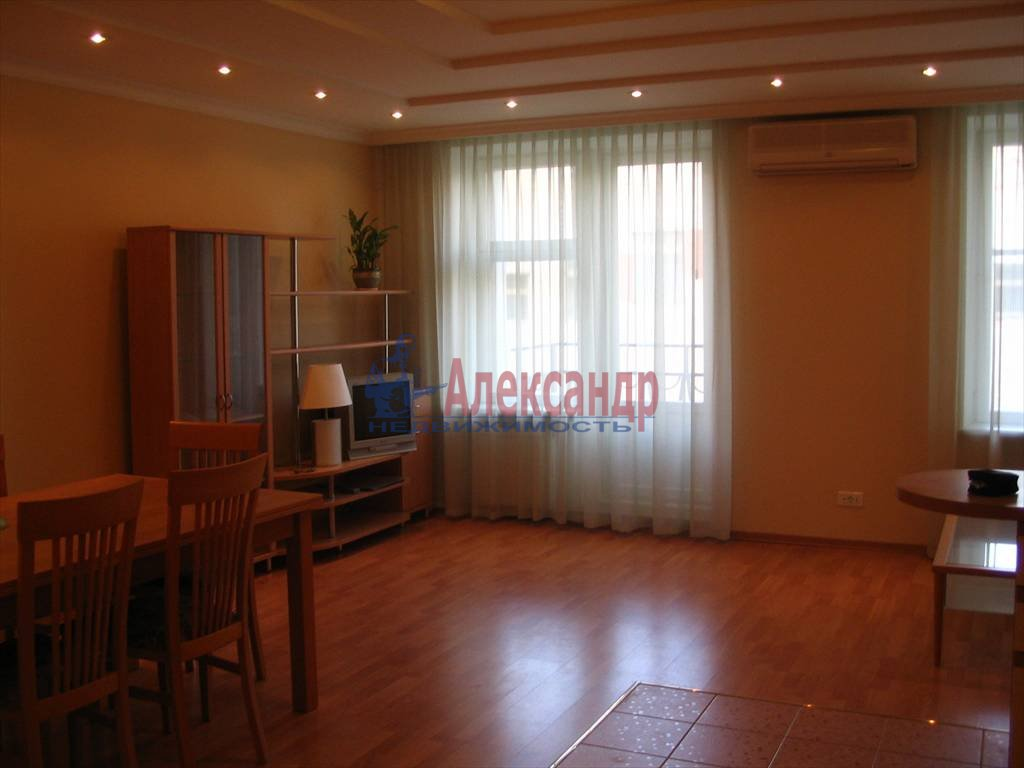 3-комнатная квартира (90м2) в аренду по адресу Шпалерная ул., 42— фото 4 из 7