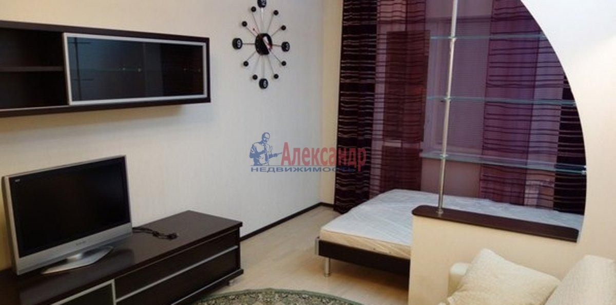 1-комнатная квартира (38м2) в аренду по адресу Ленинский пр., 84— фото 1 из 3