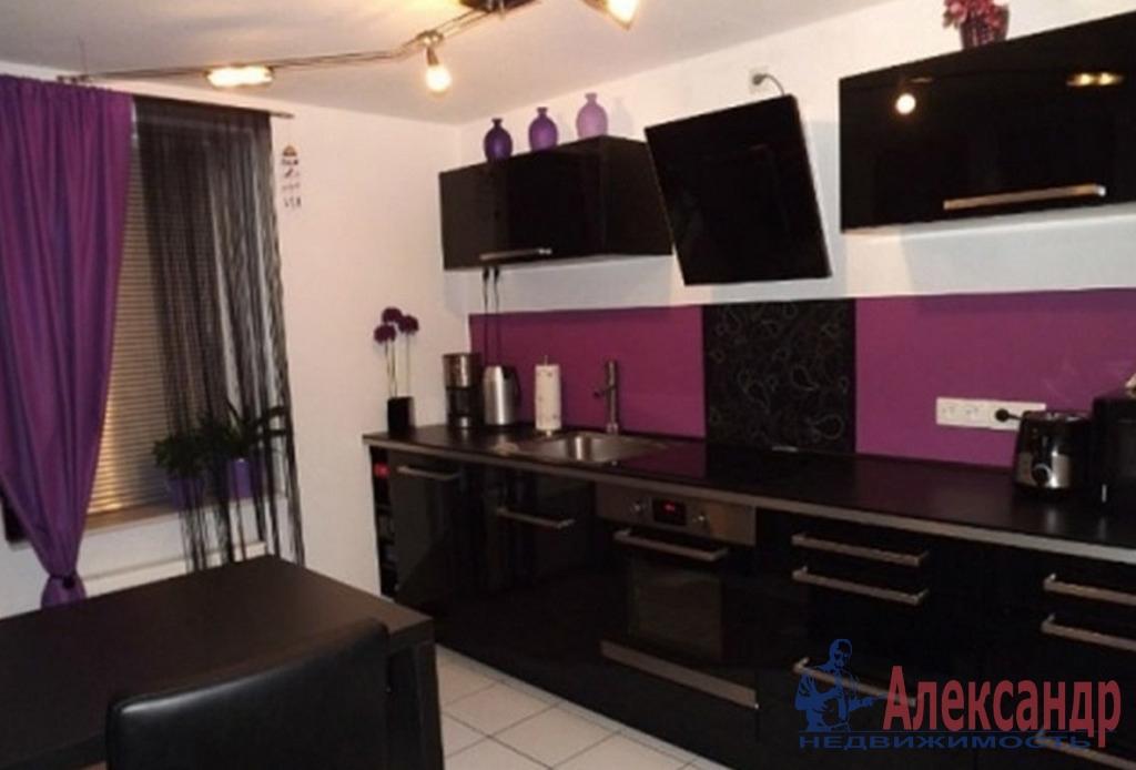 1-комнатная квартира (45м2) в аренду по адресу Искровский пр., 22— фото 2 из 2