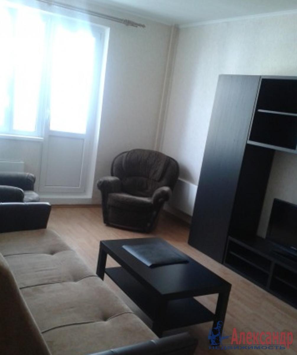 1-комнатная квартира (40м2) в аренду по адресу Выборгское шос., 27— фото 1 из 2