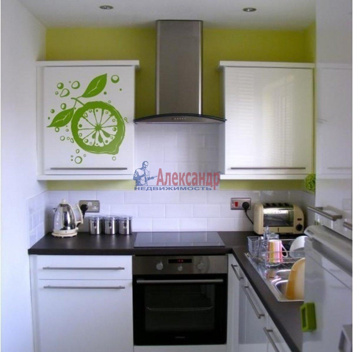 1-комнатная квартира (45м2) в аренду по адресу Латышских Стрелков ул., 15— фото 2 из 2