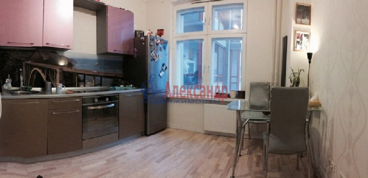 2-комнатная квартира (65м2) в аренду по адресу Лыжный пер., 8— фото 7 из 7