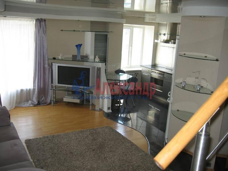 4-комнатная квартира (120м2) в аренду по адресу Новосмоленская наб., 1— фото 2 из 10