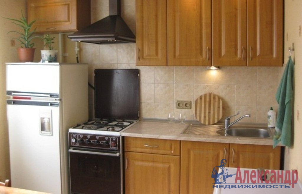 1-комнатная квартира (35м2) в аренду по адресу Выборгское шос., 25— фото 2 из 2