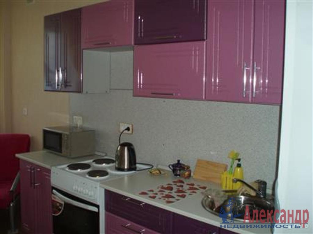 1-комнатная квартира (38м2) в аренду по адресу Новосмоленская наб., 1— фото 2 из 2