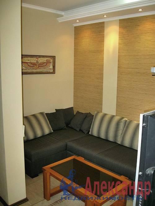 1-комнатная квартира (41м2) в аренду по адресу Ленинский пр., 135— фото 7 из 8