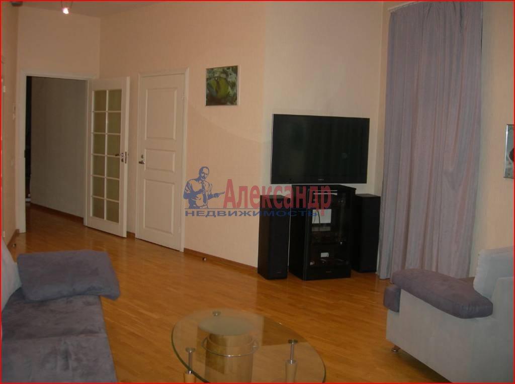 3-комнатная квартира (100м2) в аренду по адресу Большая Посадская ул., 14— фото 5 из 7