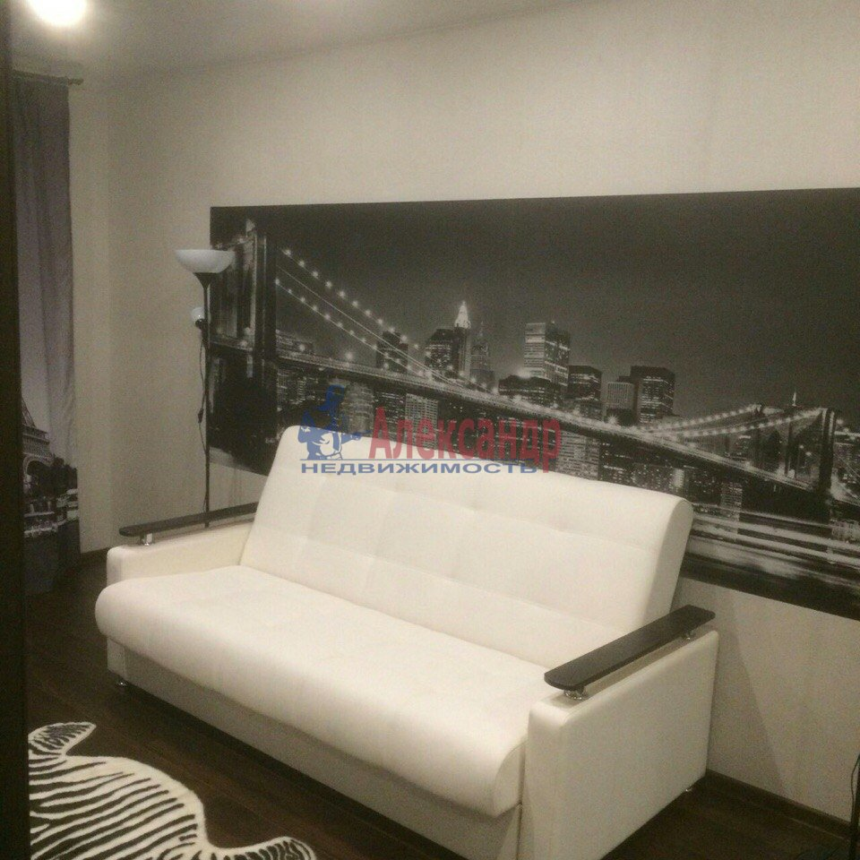 1-комнатная квартира (43м2) в аренду по адресу Есенина ул., 1— фото 6 из 9