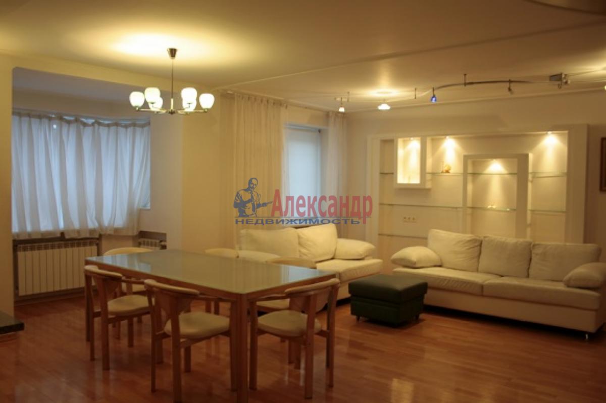 3-комнатная квартира (105м2) в аренду по адресу Невский пр., 117— фото 5 из 20