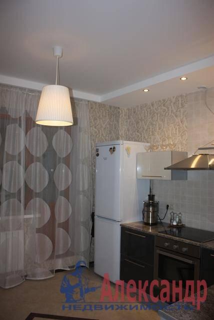 1-комнатная квартира (40м2) в аренду по адресу Ветеранов пр., 75— фото 7 из 7