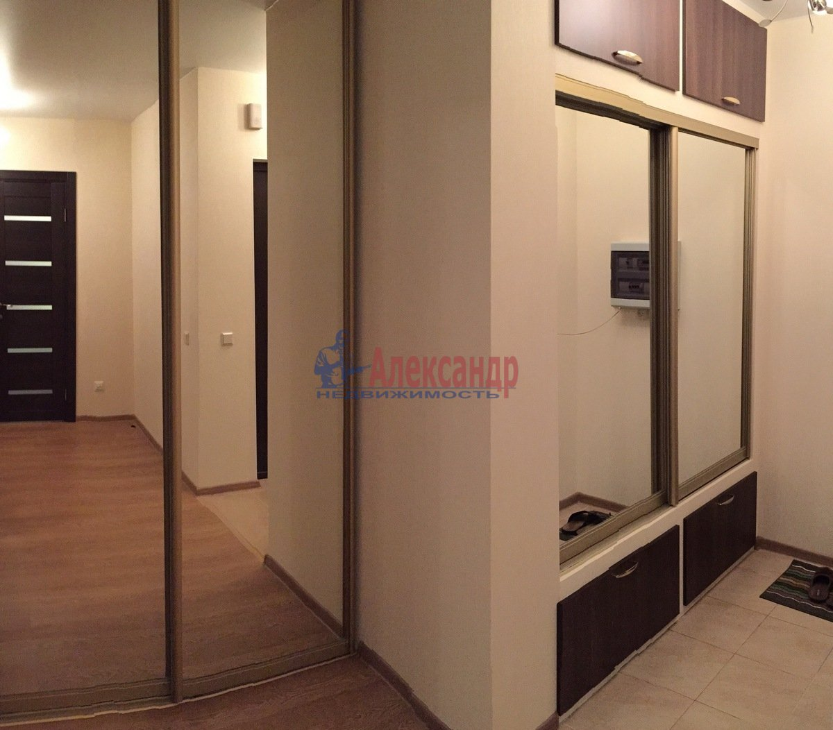 1-комнатная квартира (44м2) в аренду по адресу Маршала Жукова пр., 41— фото 1 из 5