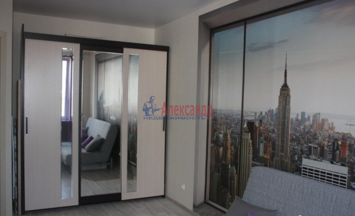 1-комнатная квартира (42м2) в аренду по адресу Морская наб., 45— фото 1 из 5