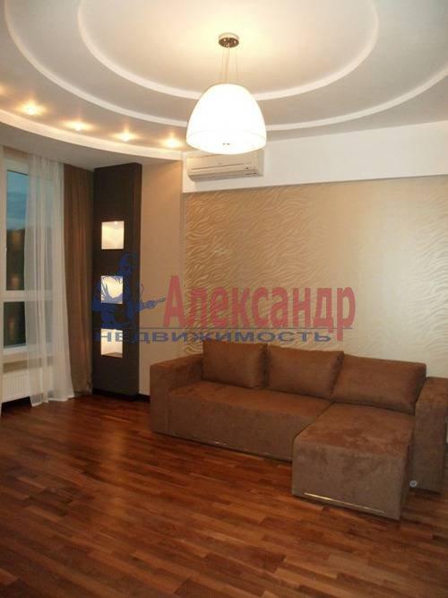 2-комнатная квартира (65м2) в аренду по адресу Ветеранов пр., 75— фото 3 из 6