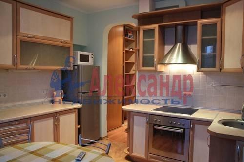 2-комнатная квартира (63м2) в аренду по адресу Науки пр., 17— фото 4 из 6