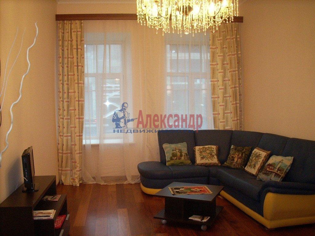 1-комнатная квартира (50м2) в аренду по адресу Академика Павлова ул., 6— фото 1 из 4