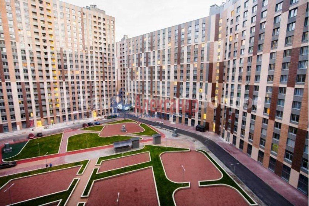 1-комнатная квартира (40м2) в аренду по адресу Обуховской Обороны пр., 138— фото 9 из 10