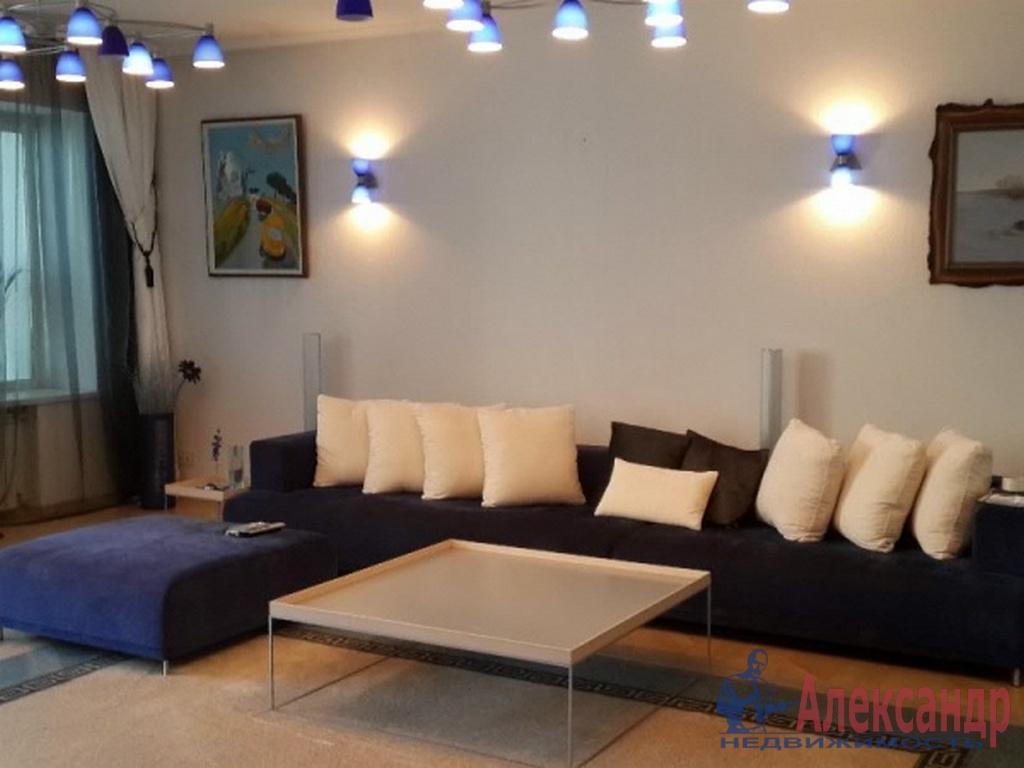 1-комнатная квартира (39м2) в аренду по адресу Новосмоленская наб., 1— фото 1 из 2