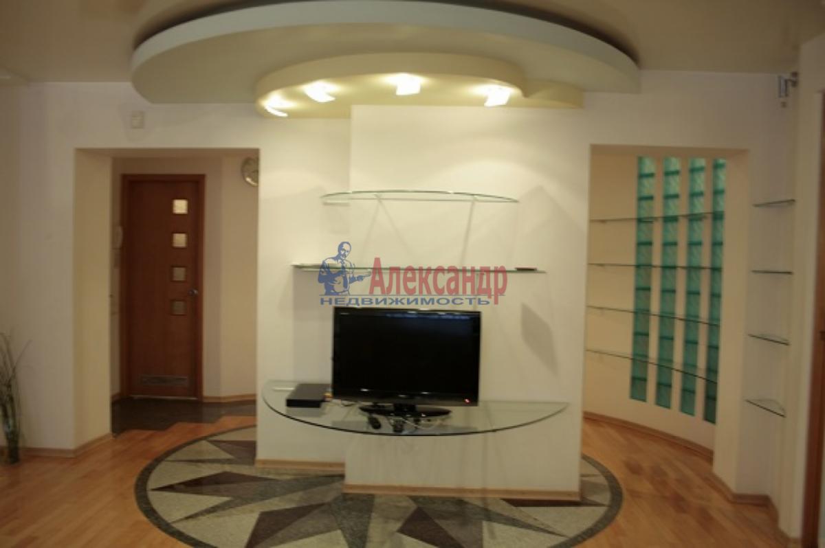 3-комнатная квартира (105м2) в аренду по адресу Невский пр., 117— фото 10 из 20