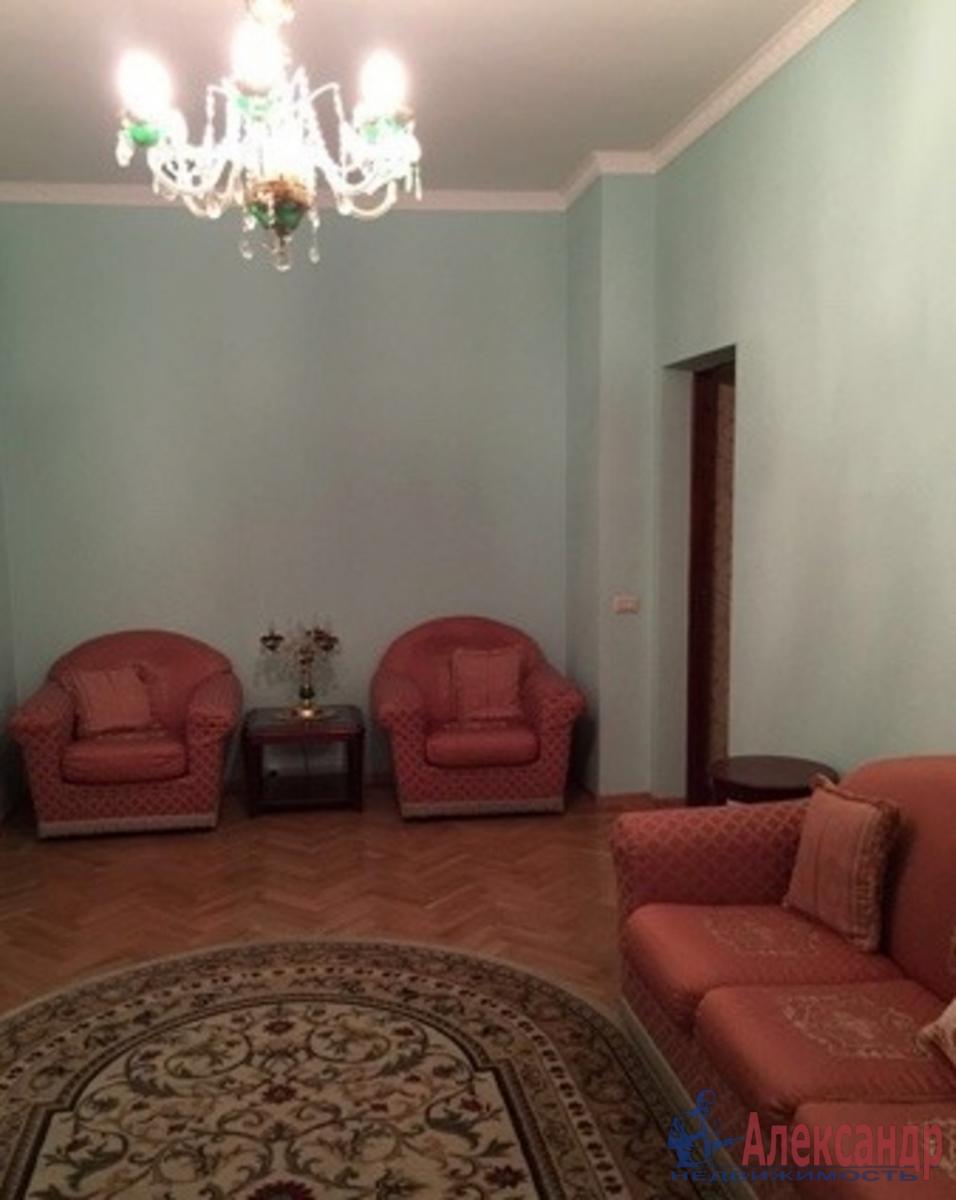 1-комнатная квартира (46м2) в аренду по адресу Стачек пр., 92— фото 1 из 2