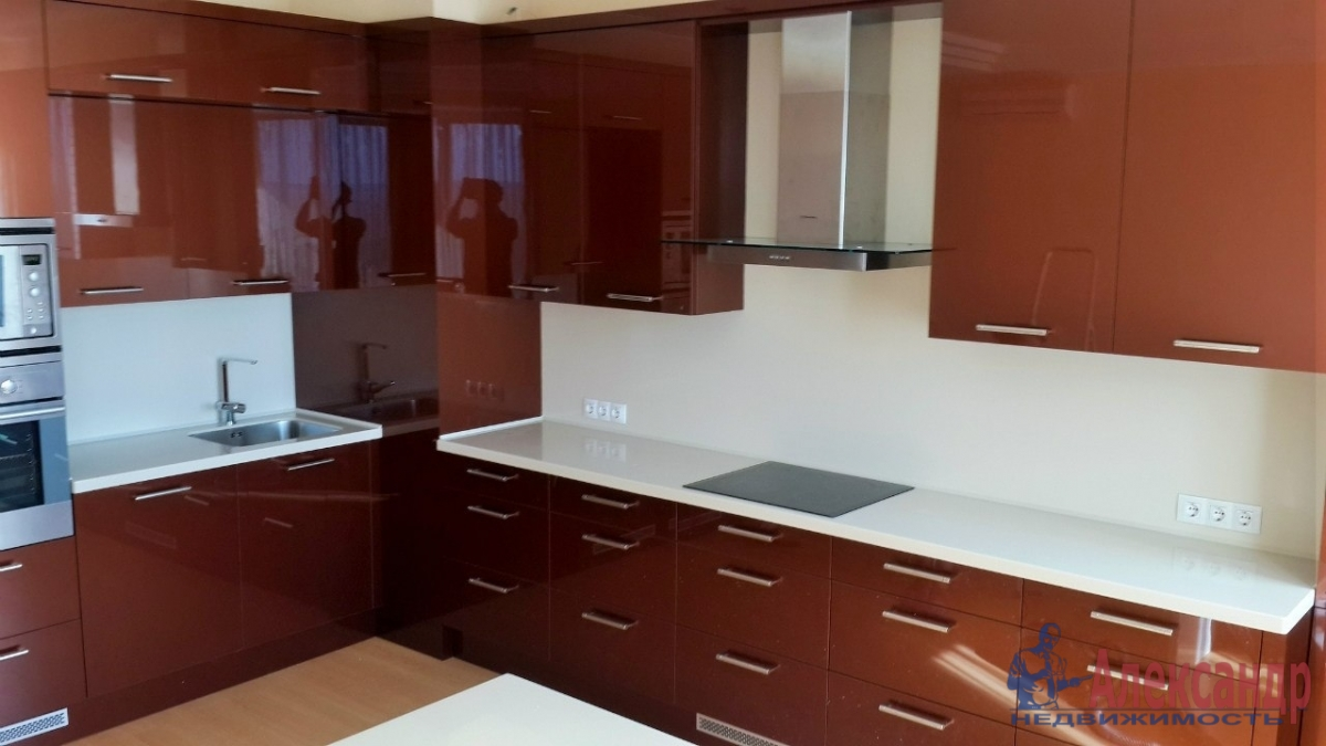 2-комнатная квартира (57м2) в аренду по адресу Дунайский пр., 14— фото 3 из 3