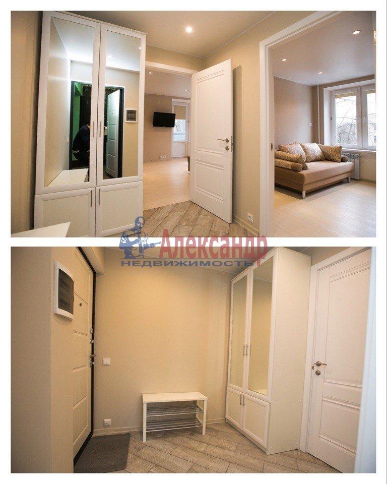 2-комнатная квартира (49м2) в аренду по адресу Кубинская ул., 20— фото 7 из 9
