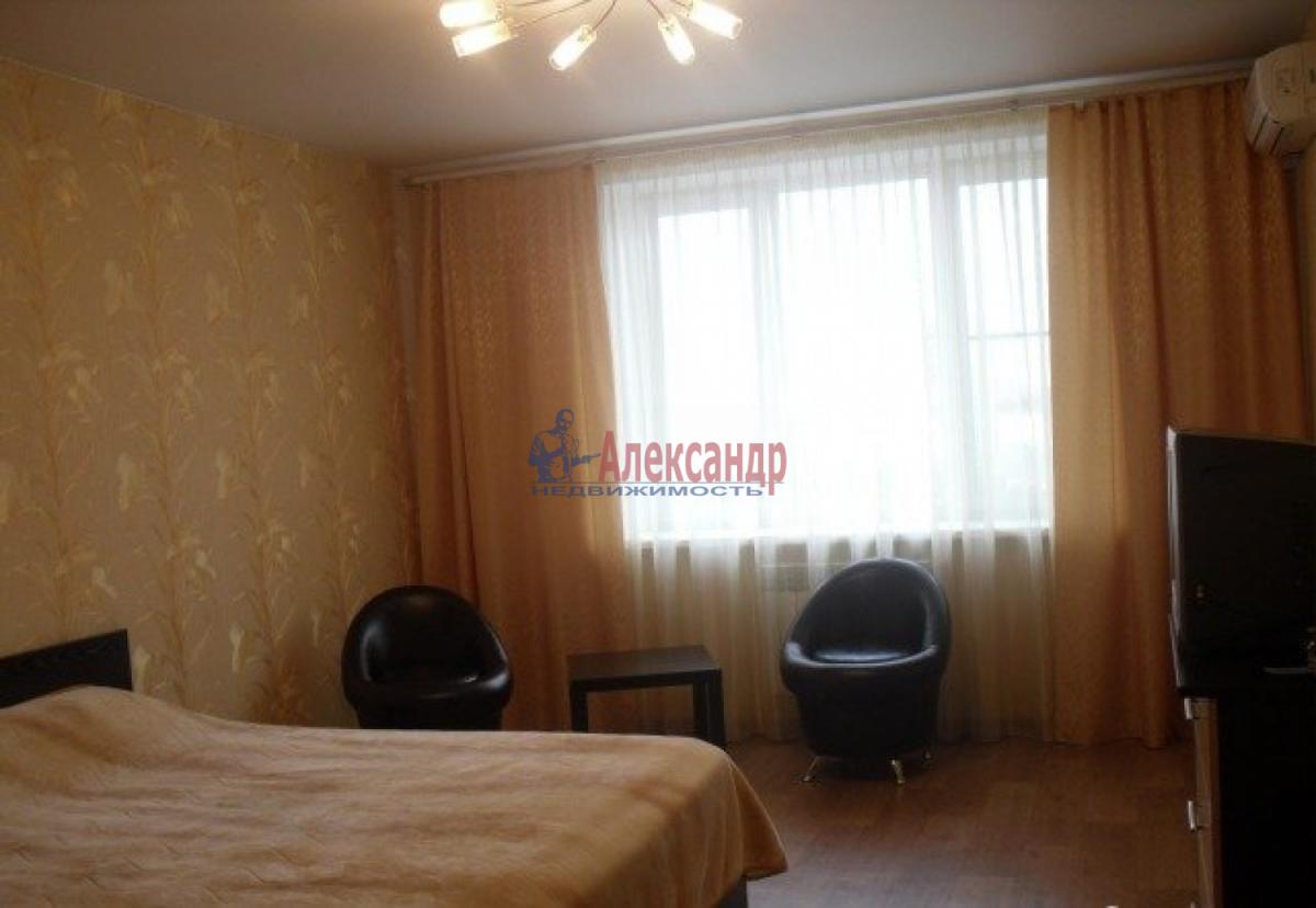 1-комнатная квартира (40м2) в аренду по адресу Авиаконструкторов пр., 20— фото 1 из 4