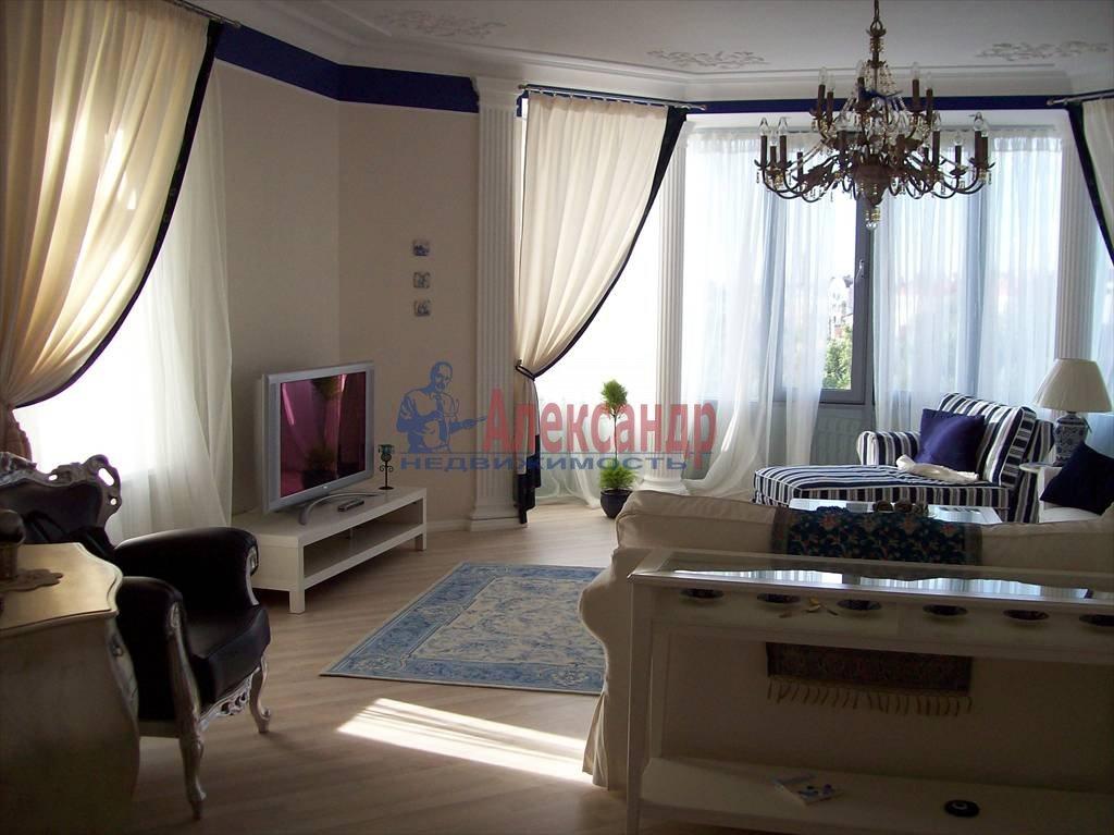 4-комнатная квартира (150м2) в аренду по адресу Реки Карповки наб., 10— фото 3 из 10