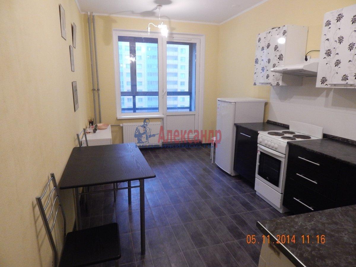 1-комнатная квартира (43м2) в аренду по адресу Мурино пос., Привокзальная пл., 3— фото 1 из 9
