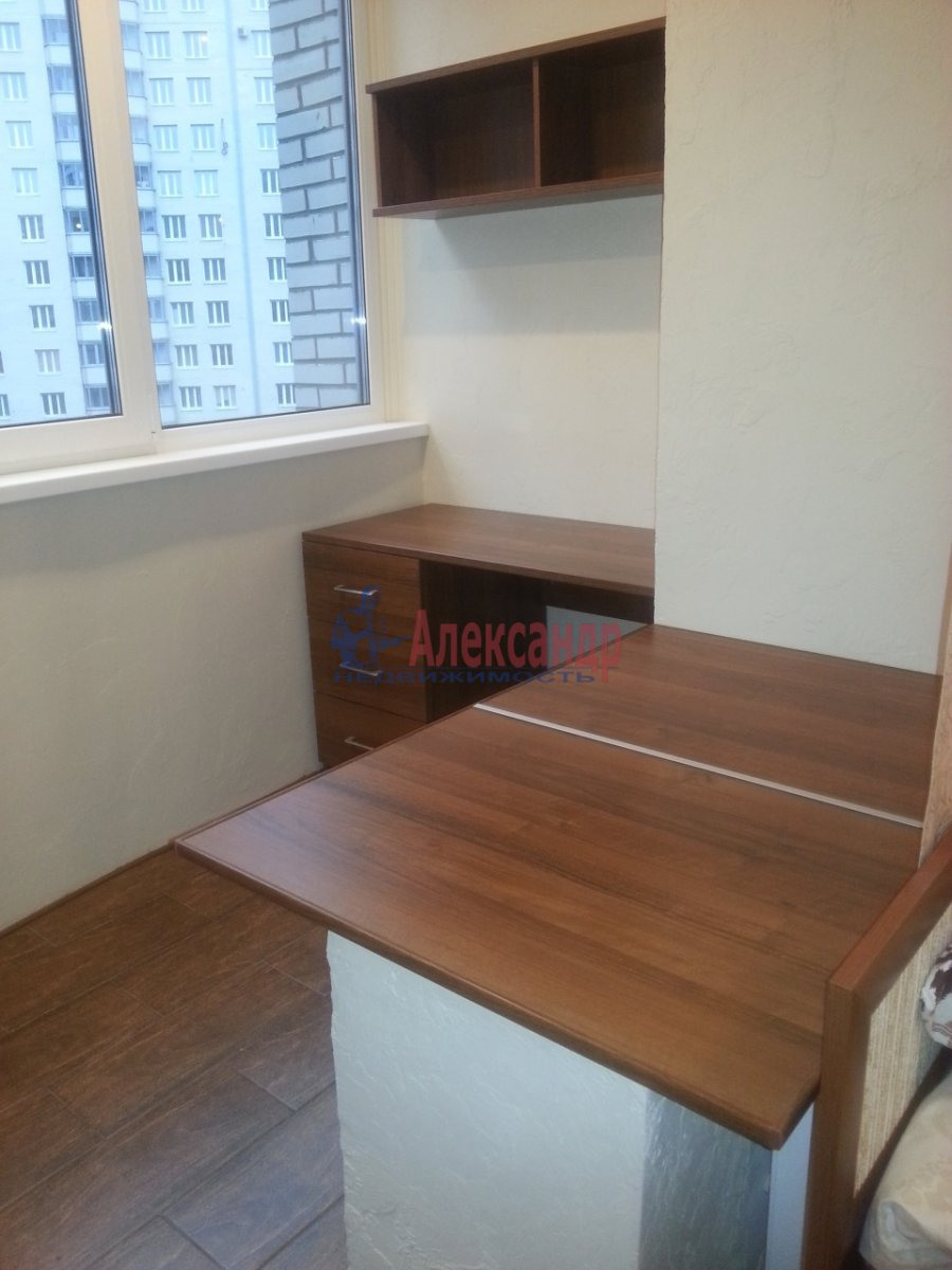 1-комнатная квартира (25м2) в аренду по адресу Луначарского пр., 11— фото 3 из 5