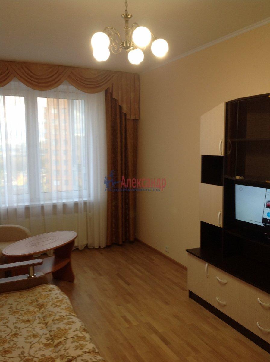 1-комнатная квартира (49м2) в аренду по адресу Мурино пос., Привокзальная пл., 3— фото 4 из 8