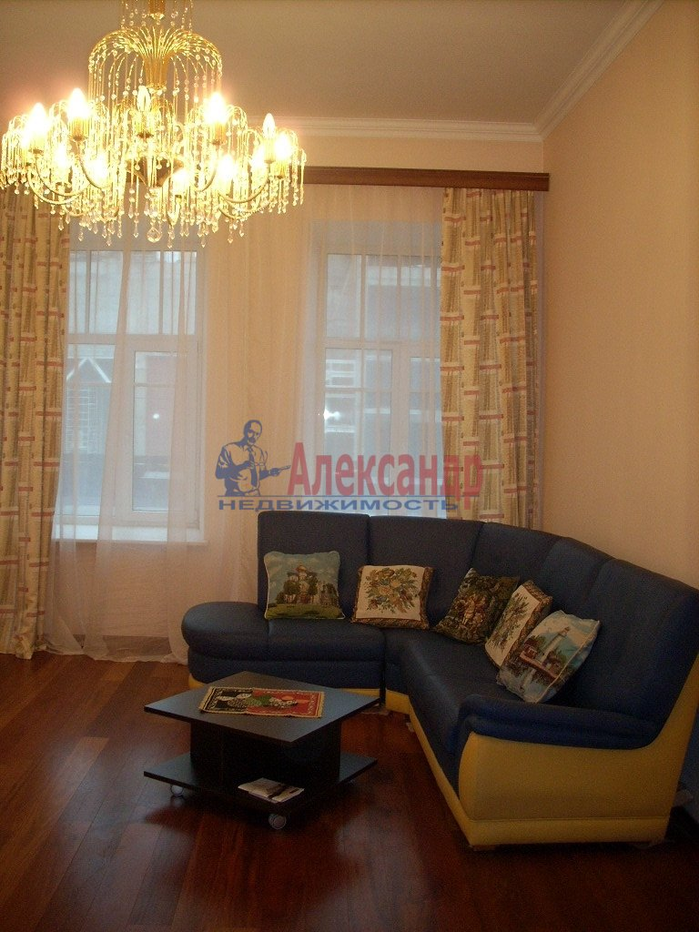 1-комнатная квартира (35м2) в аренду по адресу Ленинский пр., 96— фото 1 из 1