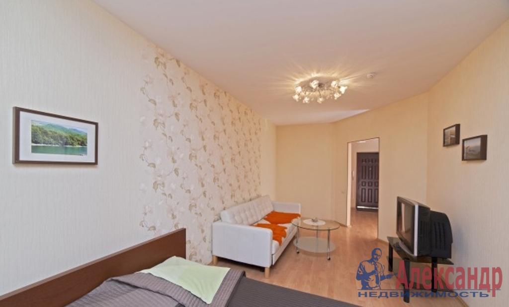 1-комнатная квартира (44м2) в аренду по адресу Кременчугская ул., 17— фото 1 из 3