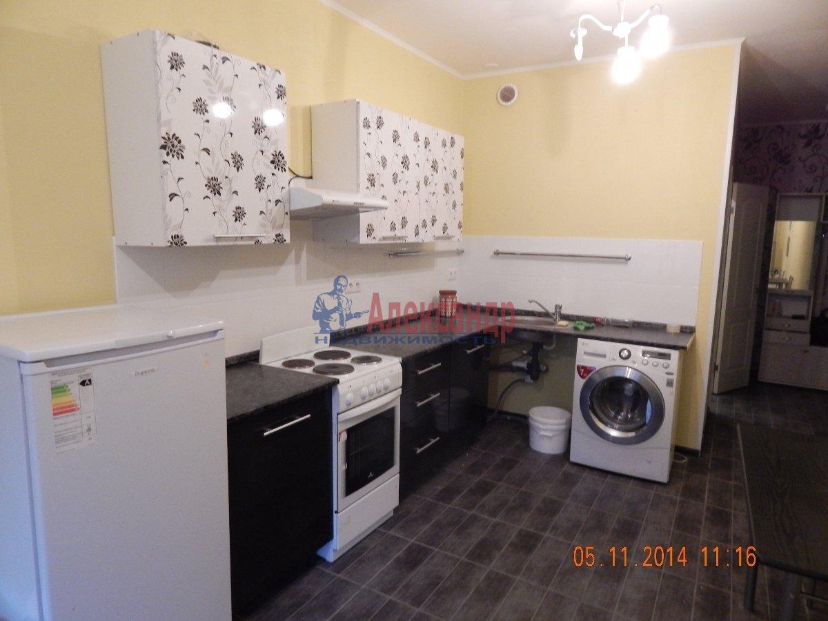 1-комнатная квартира (43м2) в аренду по адресу Мурино пос., Привокзальная пл., 3— фото 2 из 9