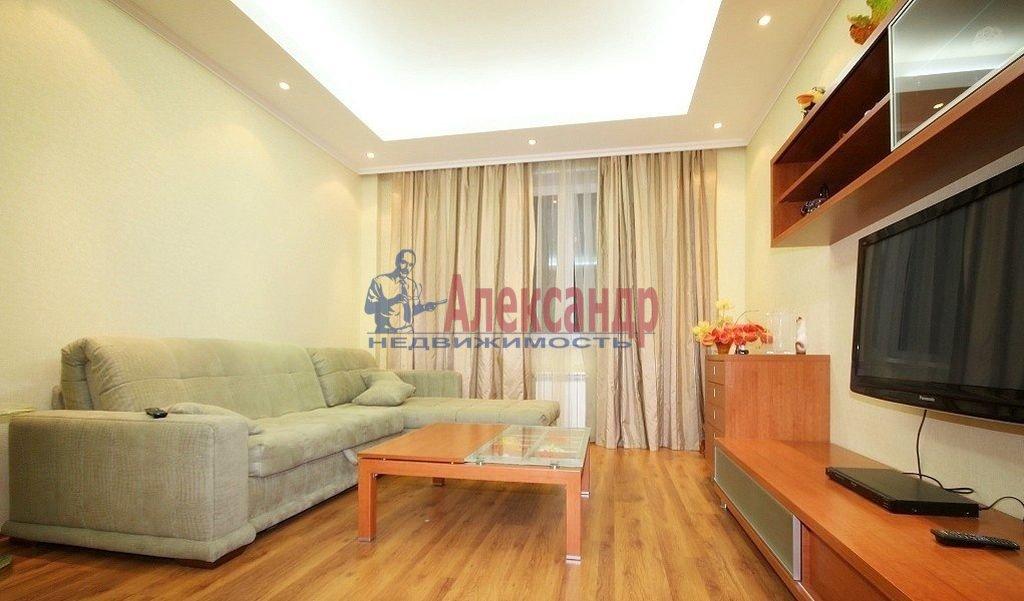 Комната в 3-комнатной квартире (87м2) в аренду по адресу Варшавская ул., 21— фото 2 из 3