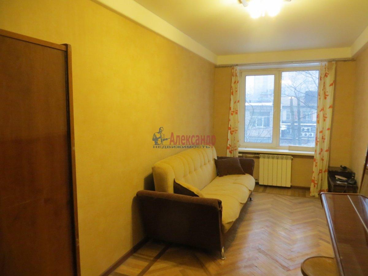 1-комнатная квартира (45м2) в аренду по адресу Кантемировская ул., 2— фото 1 из 3