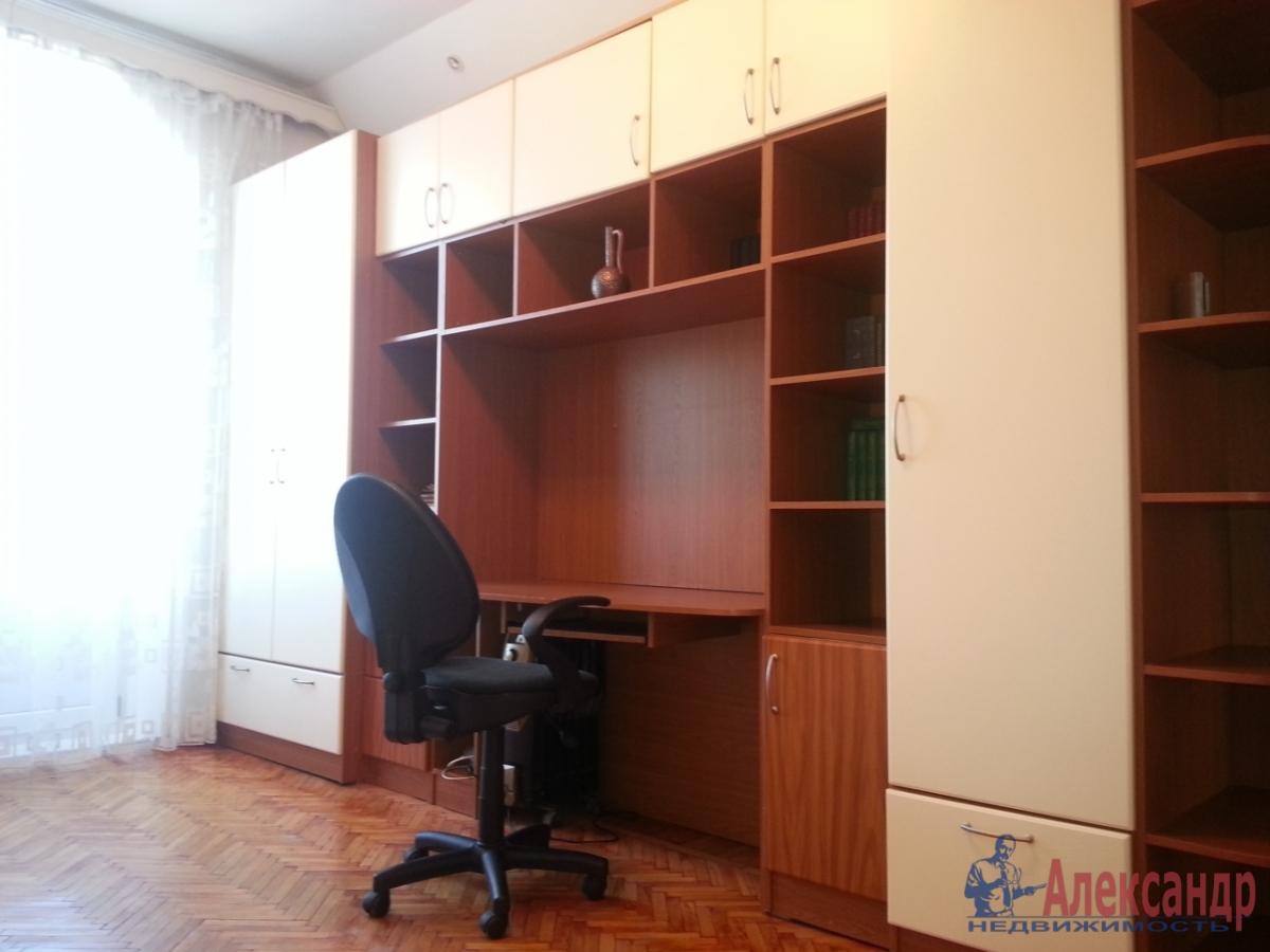 3-комнатная квартира (90м2) в аренду по адресу Московский просп., 193— фото 6 из 9