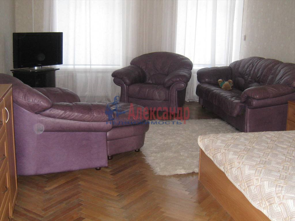 2-комнатная квартира (100м2) в аренду по адресу Невский пр., 158— фото 7 из 10