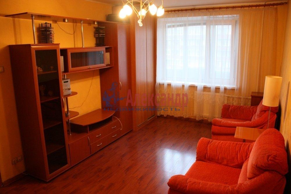 1-комнатная квартира (35м2) в аренду по адресу Ветеранов пр., 114— фото 1 из 2