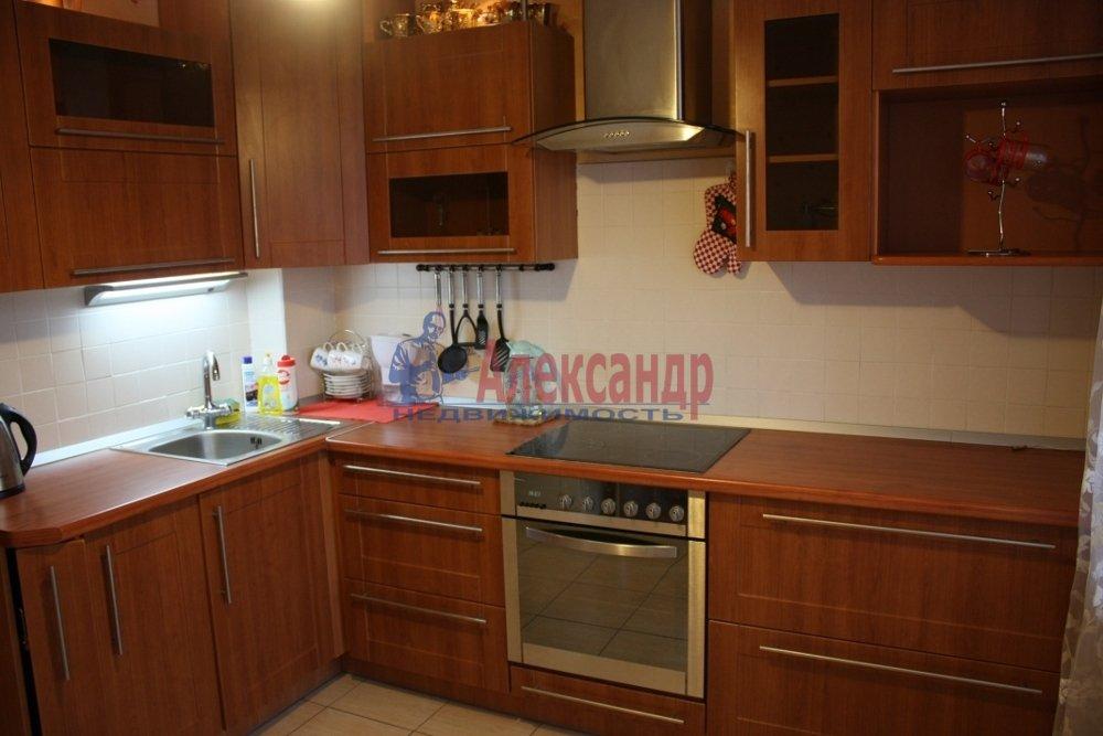 1-комнатная квартира (35м2) в аренду по адресу Ветеранов пр., 114— фото 2 из 2
