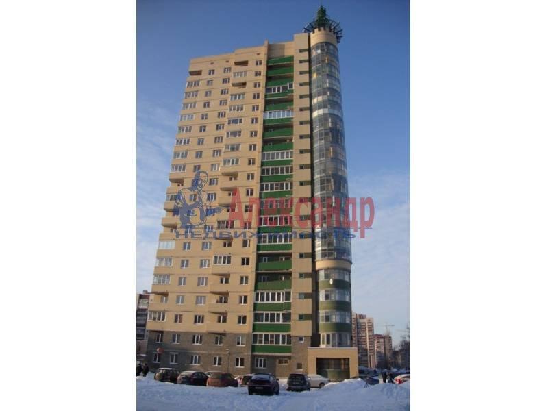 1-комнатная квартира (35м2) в аренду по адресу Рыбацкий пр., 15— фото 2 из 4