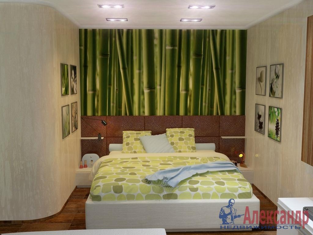 1-комнатная квартира (36м2) в аренду по адресу Маршала Блюхера пр., 49— фото 1 из 2