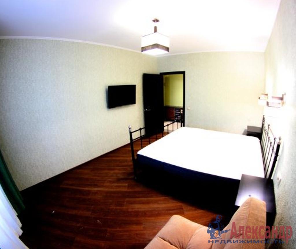 1-комнатная квартира (43м2) в аренду по адресу Купчинская ул., 34— фото 1 из 4