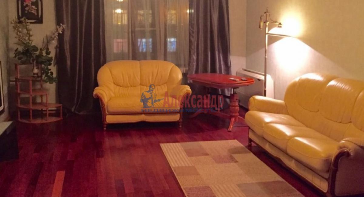 3-комнатная квартира (85м2) в аренду по адресу Чернышевского пл., 10— фото 8 из 9