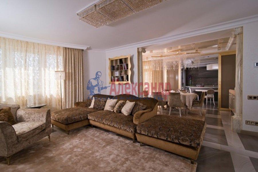 4-комнатная квартира (206м2) в аренду по адресу Реки Мойки наб.— фото 4 из 13