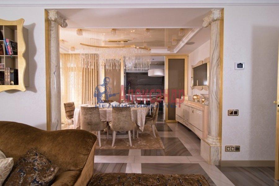 4-комнатная квартира (206м2) в аренду по адресу Реки Мойки наб.— фото 5 из 13