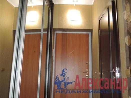 1-комнатная квартира (41м2) в аренду по адресу Народного Ополчения пр., 10— фото 1 из 5