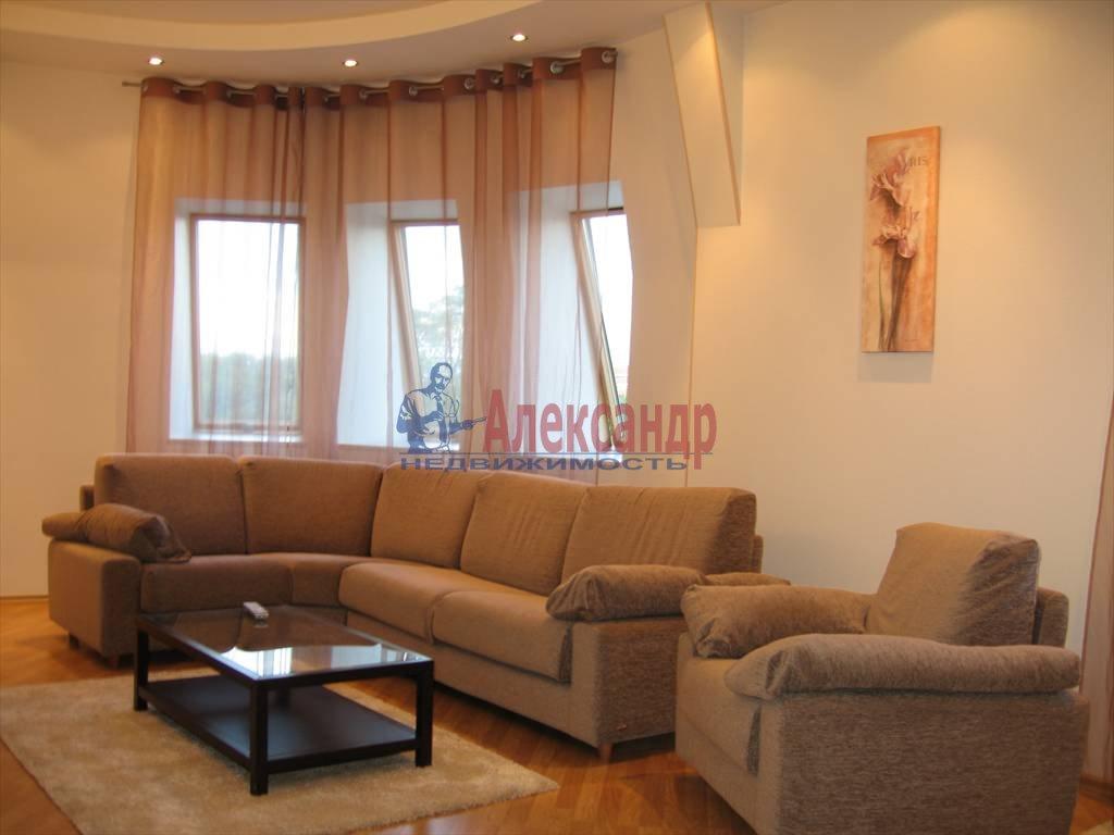 3-комнатная квартира (140м2) в аренду по адресу Константиновский пр., 1— фото 3 из 13